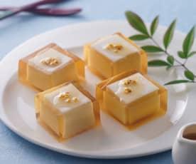 黃金桂花椰汁糕