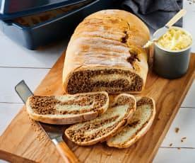 Schwarz-Weiß-Brot
