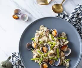 白酒蛤蜊燉飯
