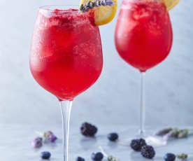 Gin and tonic de lavanda