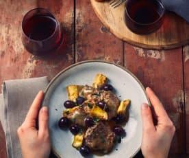 Manzo ai carciofi e olive a Cottura Lenta