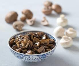Sautéed mushrooms (400 g)