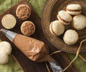 Kokos-Ganache für Macarons
