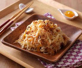 金柚椒麻麵線