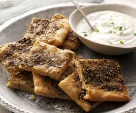 Baharatlı Lübnan Ekmeği