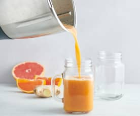 Smoothie agrumes-gingembre