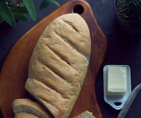 Pane al rosmarino e salvia
