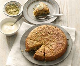 Persischer Möhren-Kokosnuss-Kuchen