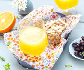 Gin à l'orange