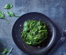 Contorno di spinaci