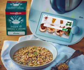 Zuppa di cereali e legumi CucinaBarilla