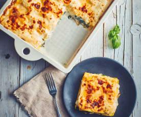 Lasagne mozzarella, ricotta e spinaci (Bimby Friend)