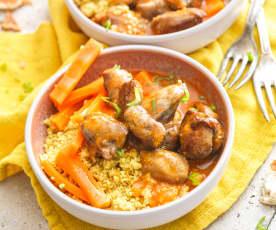 Sot-l'y-laisse de dinde au curry doux