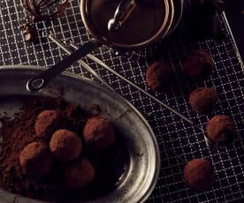 Scharfe Schokoladentrüffel (Chocolat)