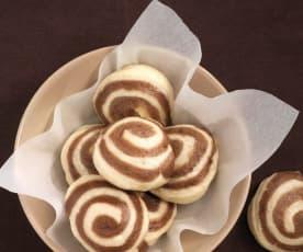 Kakaowe bułeczki gotowane na parze (Mantou)