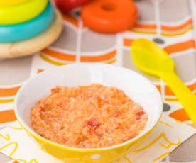 Pancotto con merluzzo e pomodoro