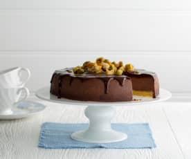 Čokoládovo-kaštanový cheesecake