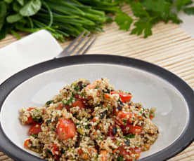 Ensalada tabulé de quinoa