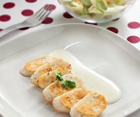 Salsicciotti di pollo e Parmigiano reggiano
