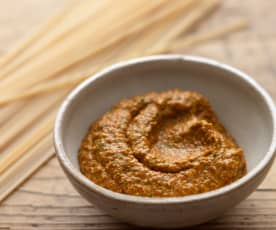 Roast Red Pepper and Parsley Pesto