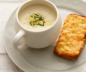 Zupa serowo-kalafiorowa
