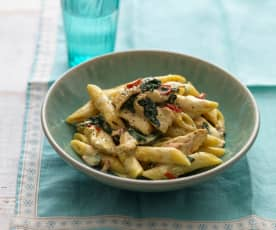 Saffron Chicken Penne