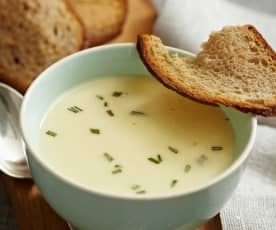 Parmesan-Kartoffel-Suppe