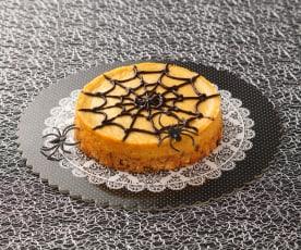Cheesecake à la citrouille et aux épices