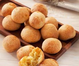 Bezglutenowe brazylijskie bułeczki serowe