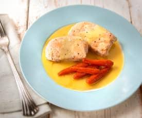 Filetto di pollo con salsa Gravy