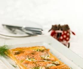 Folhado de salmão