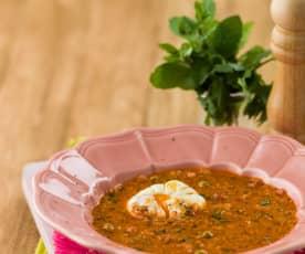 Sopa de farrapos à alentejana