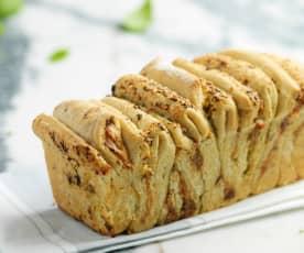 Pão de alho e ervas