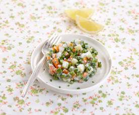 Macédoine de légumes nouveaux