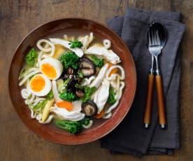 Asian Chicken Noodle Soup
