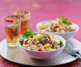 Blumenkohl-'Couscous'-Salat