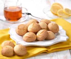 Biscottini di riso al limone (senza glutine)