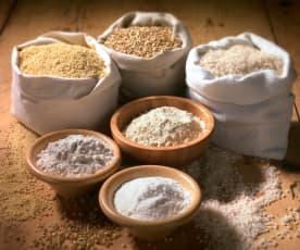 Mix di farina integrale (senza glutine)