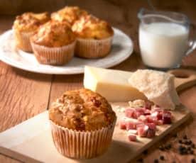 Muffin salati allo speck (senza glutine)