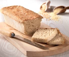 Pane con farina di miglio (senza glutine)