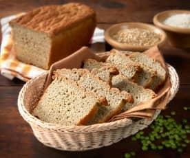 Pane con farina di piselli (senza glutine)