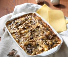 Lasagne ai funghi (senza glutine)