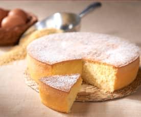 Pan di Spagna al riso e miglio (senza glutine)