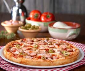 Pizza 'come in pizzeria' (senza glutine)