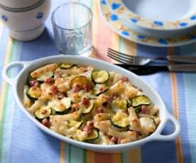 Timballo al forno con zucchine (senza glutine)