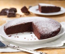 Torta al cioccolato (senza glutine e senza uova)