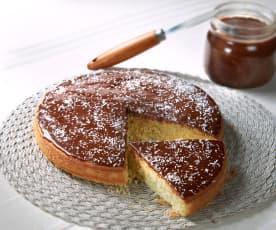 Torta cocco e gianduia (senza glutine)