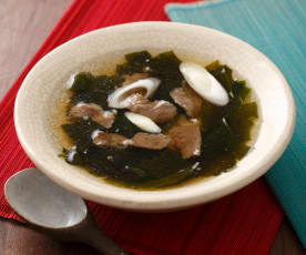 韓國牛肉海帶湯