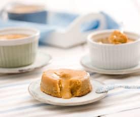 Molten Caramel Centre Muffins