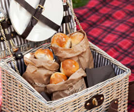 Two-Flavoured Picnic Rolls